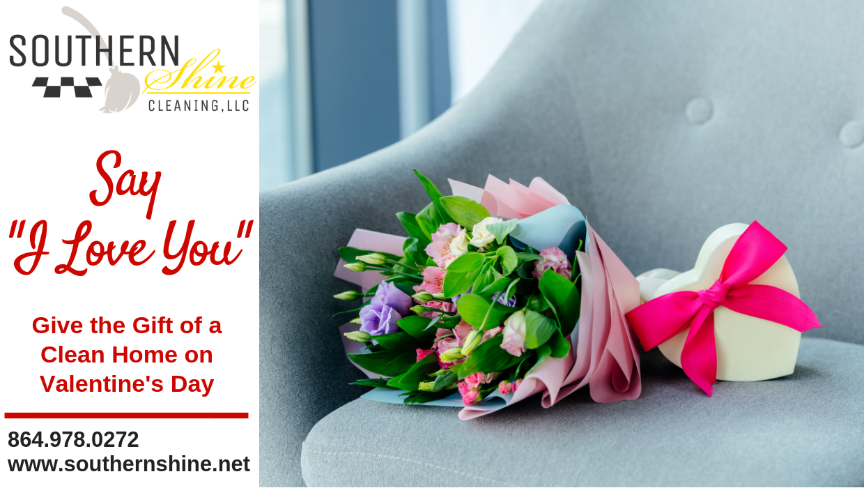 "Say ""I Love You"" with a Home Cleaning Service"