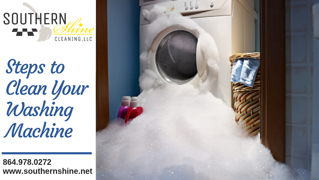 Steps to Clean Your Washing Machine