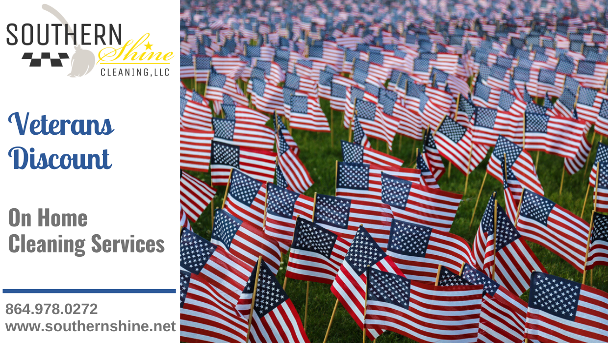 Home Cleaning Discount for Veterans