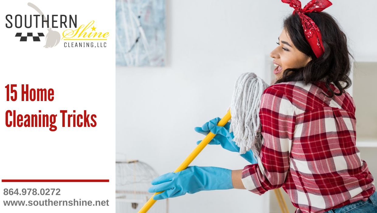 15 Home Cleaning Tricks